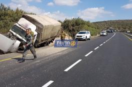 الثاني خلال اليوم ..اصابة 3 جنود اسرائيليين بحادث سير شمال الخليل