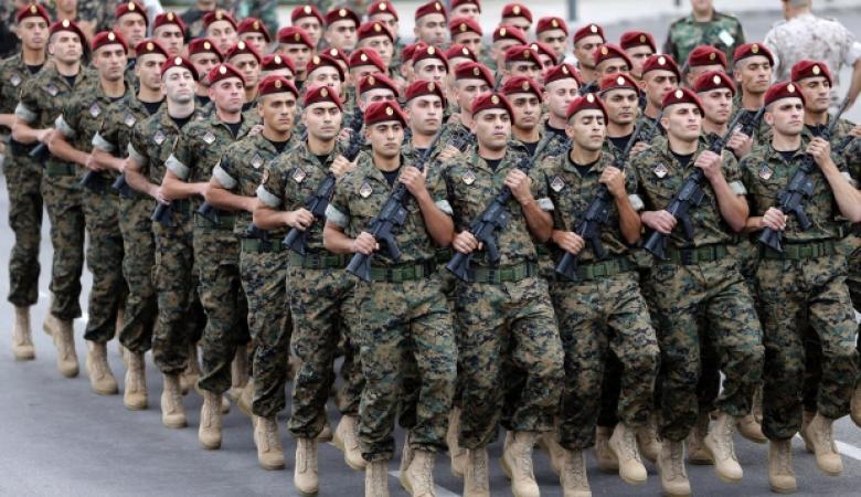 الجيش اللبناني يهدد اسرائيل : سنتصدى لكم عسكريا