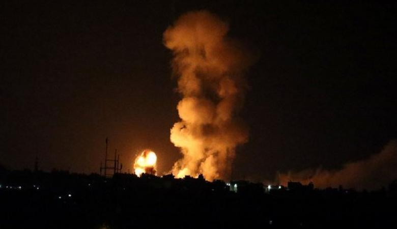 طيران الاحتلال يقصف عدة مناطق في غزة