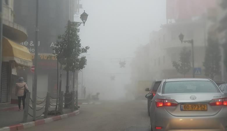 الارصاد الجوية تحذر المواطنين من  تدني الرؤيا بسبب الضباب