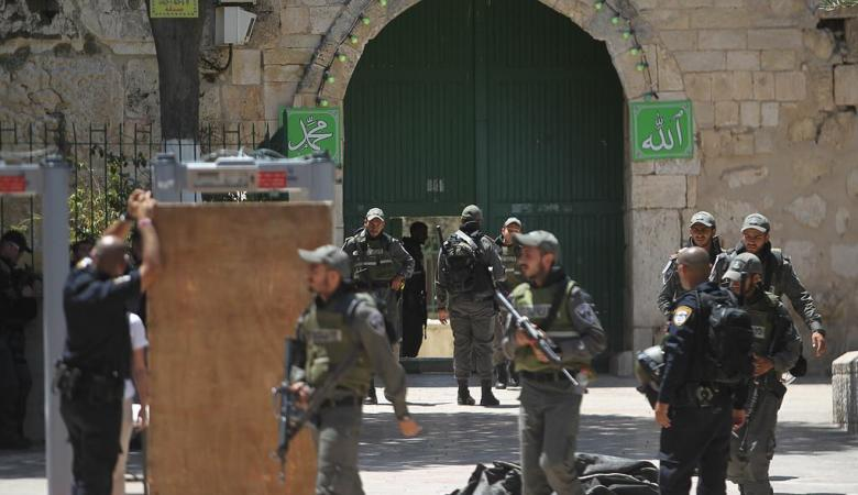 عربيات : الاردن تصدى لمحاولات العبث الاسرائيلية بالاقصى