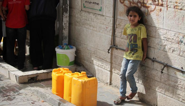 الحياة في غزة  لن تكون صالحة للعيش العام القادم