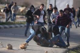 إصابتان بالرصاص الحي خلال تجدد المواجهات مع الاحتلال في الخليل