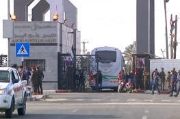 مصر تبلغ داخلية غزة بفتح معبر رفح للداخلين فقط