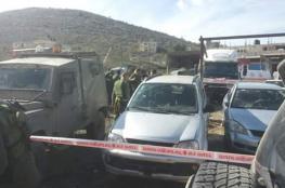 """الاحتلال يعدم شابا فلسطينيا جنوب نابلس بزعم تنفيذه لعملية """"دهس """""""
