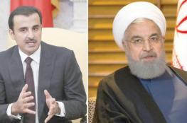 روحاني : الشعبان القطري والايراني لديهما عزيمة قوية لتوطيد العلاقات