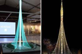 انتهاء أعمال الأساس لأطول برج في العالم بدبي