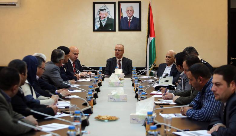 الحمد الله يترأس اجتماع المجلس الأعلى للدفاع المدني