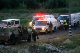 """إصابة جندي إسرائيلي بعملية دهس على """"حوارة"""""""