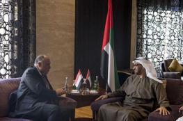 ولي عهد ابو ظبي يلتقي وزير الخارجية المصري