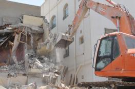 الاحتلال هدم 190 منزلا لفلسطينيي الداخل في 2019