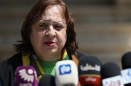 وزيرة الصحة تعلن عن التوصل للمصدر الرئيسي للوباء