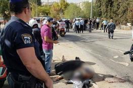 اصابة 5 مستوطنين وجنود في عملية اطلاق نار بالقدس
