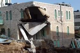 وزارة التربية عن انهيار جزء من مدرسة في الخليل: سنتخذ إجراءات رادعة
