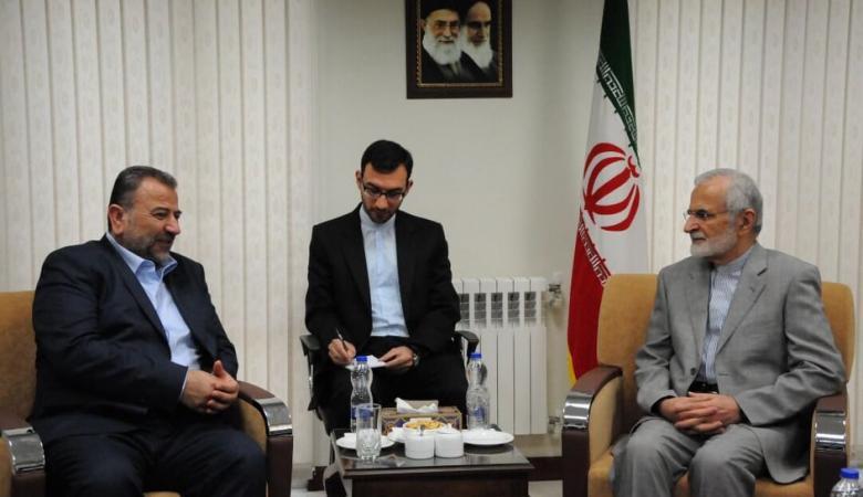 حماس تؤكد من طهران انها وايران في مسار واحد لتحرير فلسطين