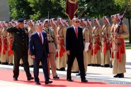 الاردن وتركيا يتفقان على مواصلة التصدي لقرار ترامب بشان القدس