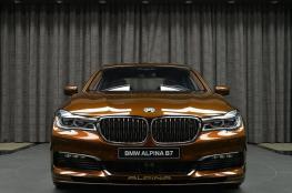 """الكشف عن سيارة  البينا B7 من طراز """"BMW """""""