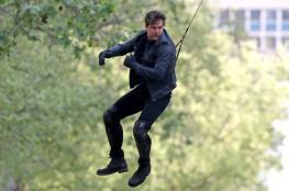 """فيديو: شاهد إصابةَ توم كروز خلال تصوير """"Mission Impossible 6"""""""