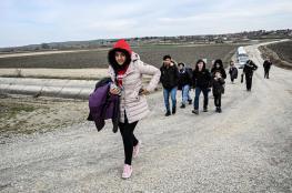 اليونان تتوعد اللاجئيين السوريين المتواجدين على الحدود التركية