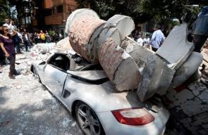 الزلزال المدمر الذي ضرب المكسيك وخلف مئات القتلى