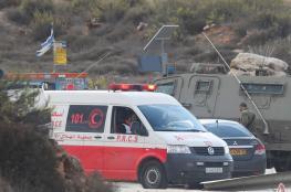 اصابة 3 شبان برصاص الاحتلال شمال شرق رام الله