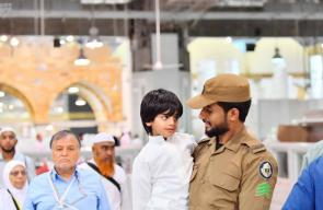 السعودية تنشر الآلاف من رجال الامن لمساعدة حجاج بيت الله الحرام