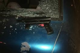 اصابة  شاب برصاص الاحتلال  غرب رام الله