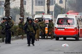 اصابة شابين برصاص الاحتلال في نابلس وغزة