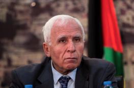 الاحمد : اتخذنا قرار الصمت حيال جهود المصالحة الفلسطينية