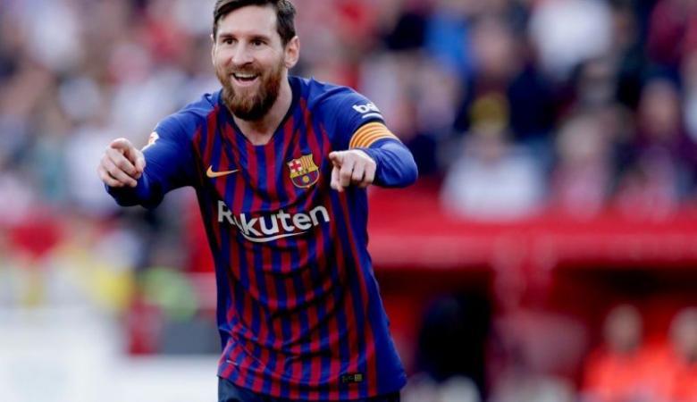 ميسي يكشف حقيقة رحيله عن برشلونة