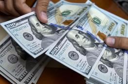 ارتفاع في سعر صرف الدولار مقابل الشيكل