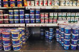 الاقتصاد تتلف أطنان من المنتجات الاسرائيلية