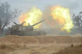 المدفعية الإسرائيلية تقصف أهدافاً على حدود قطاع غزة
