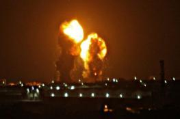طيران الاحتلال يقصف اهدافا جنوب قطاع غزة