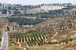 الاستيطان الاسرائيلي  يواصل ابتلاع الضفة الغربية