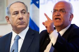 نتنياهو ردا على عريقات : انتم تدعمون الأرهاب وتمجدونه