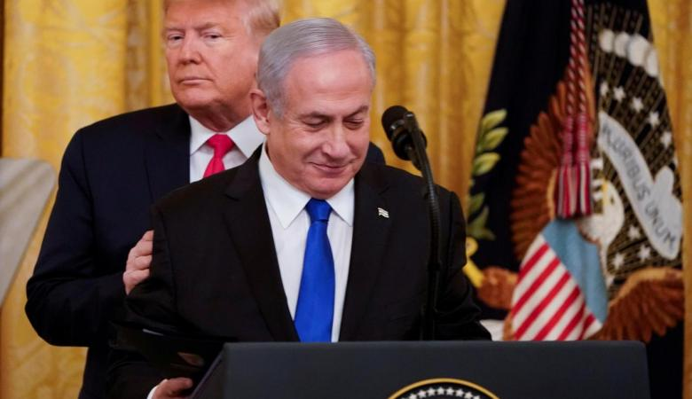 مسؤول إسرائيلي كبير : ترامب اوقف خطة ضم الضفة الغربية