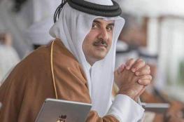 امير قطر والرئيس الايطالي يتفقان على حل الازمة الخليجية