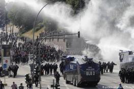 """وزير ألماني يصف متظاهرين ألمان نهبوا متاجر وأحرقوا سيارات بأنهم """"الارهابيون الاسلاميون"""""""