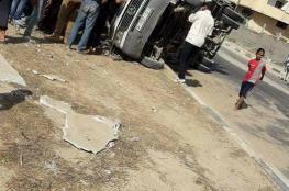 وفاة مواطنة بحادث سير جنوب قطاع غزة