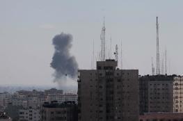 اطلاق قذائف صاروخية من غزة صوب مستوطنات الغلاف
