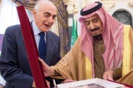 """منيب المصري يمنح الملك سلمان """"درع القدس للانتماء والعطاء """""""