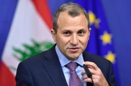 وزير خارجية لبنان : لا يوجد اي سبب لبقاء اللاجئيين السوريين