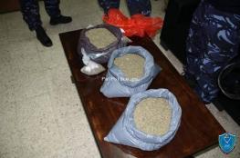 الشرطة تضبط 6 كيلو غرام من المخدرات  في جنين