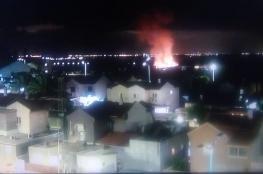 اطلاق صاروخ من غزة صوب مستوطنات الغلاف