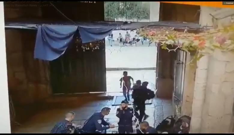 الاسعاف الاسرائيلي رفض علاج فتى أصيب امام الأقصى