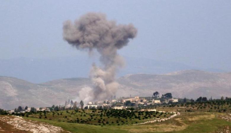 مقتل 8 مدنيين سوريين بقصف روسي سوري في ادلب
