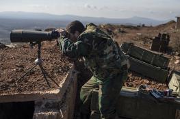 جيش النظام السوري يسيطر على تل استراتيجي مطل على هضبة الجولان المحتلة
