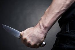 تعرض موظف في دائرة سير نابلس  للطعن بالصدر