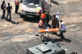 اصابة مواطن بجراح متوسطة بعد تعرضه للدهس من قبل مستوطن